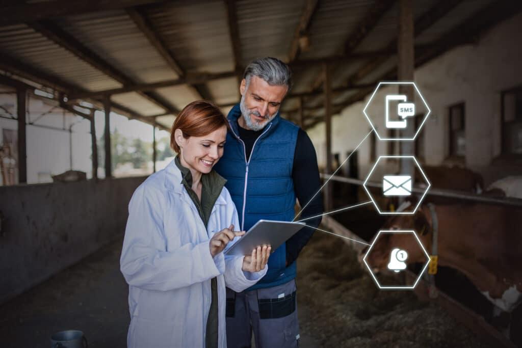 Communication module vénotis vétérinaires éleveurs